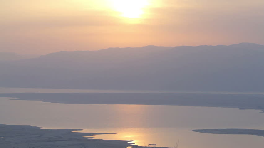 Beautiful Sunrise on horizon. Chill and relaxing. 