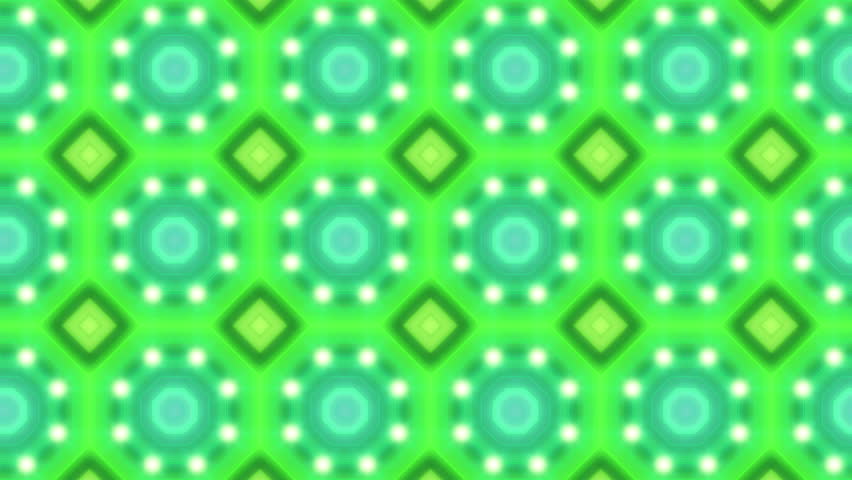 Electric Kaleidoscope Loop - 4k Energetic colorful animation of shapes in a Kaleidoscope form - 4k - 4K stock video clip