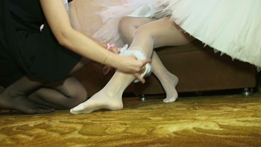 Wedding pantyhose videos