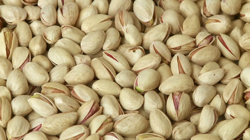 Pistachio nuts background  - HD stock footage clip