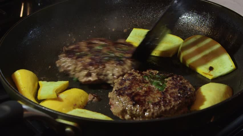 how to cook hamburgers in frying pan