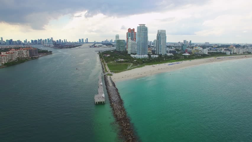 Government cut miami beach fl stock footage video for Miami fishing piers