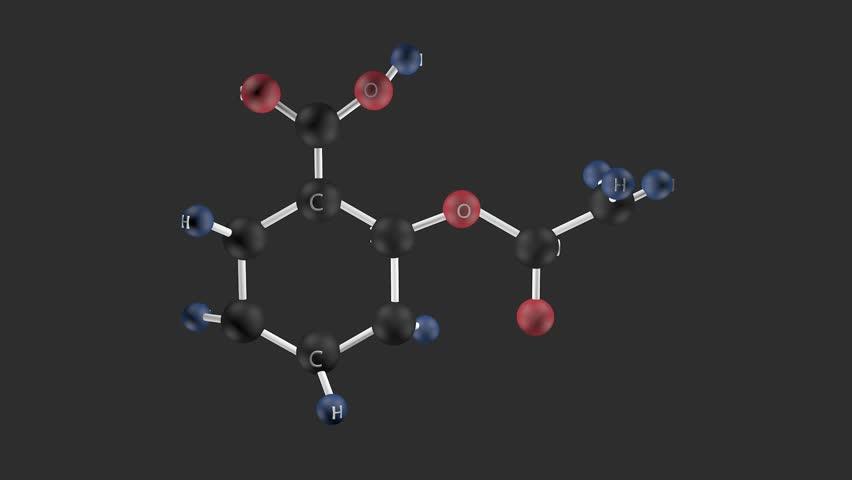 Header of acetylsalicylic acid