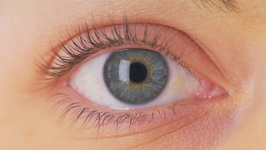 Close up of womans eye - HD stock video clip