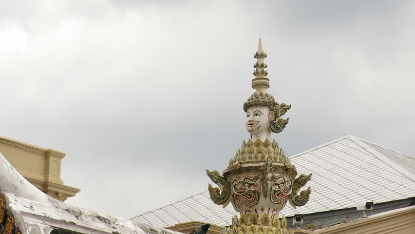 Buddha sculpture of Giant in Wat Phra Kaew, Bangkok