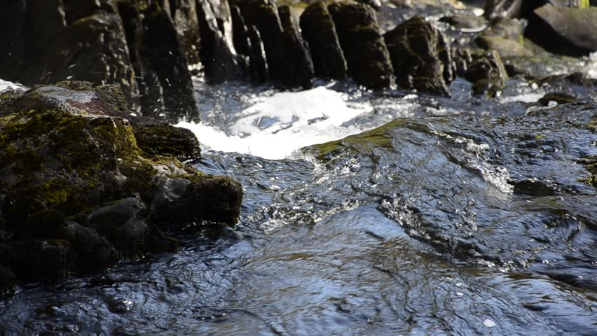 River flowing over rocks down into the fiver, Betws y coed Wales #2