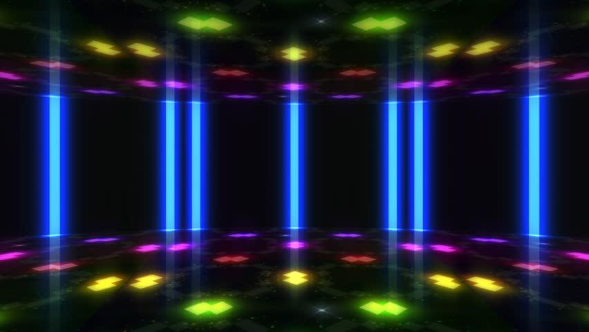 Disco Dance Floor background loop