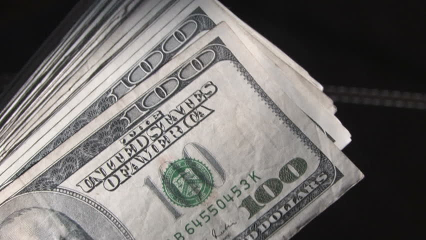 Money Shuffle 3 - HD stock video clip