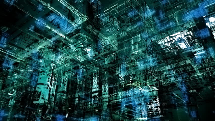 Matrix-kind cyberspace