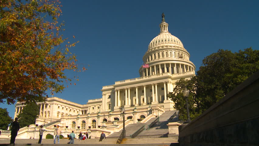 WASHINGTON, D.C. - CIRCA 2010: The United States Capitol Building in Washington, DC