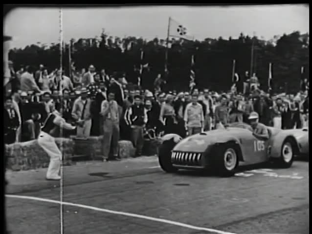 Start of car race