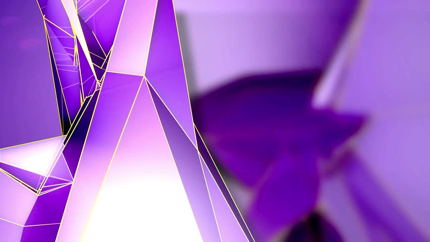 Abstract Background - Triangle - Purple - 1