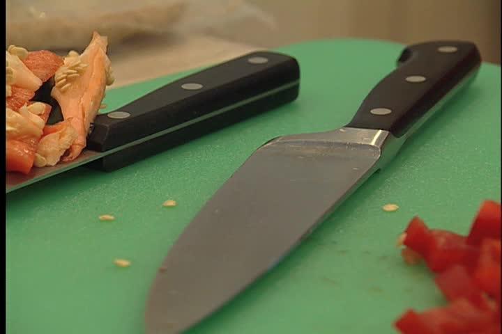 Knife - SD stock video clip