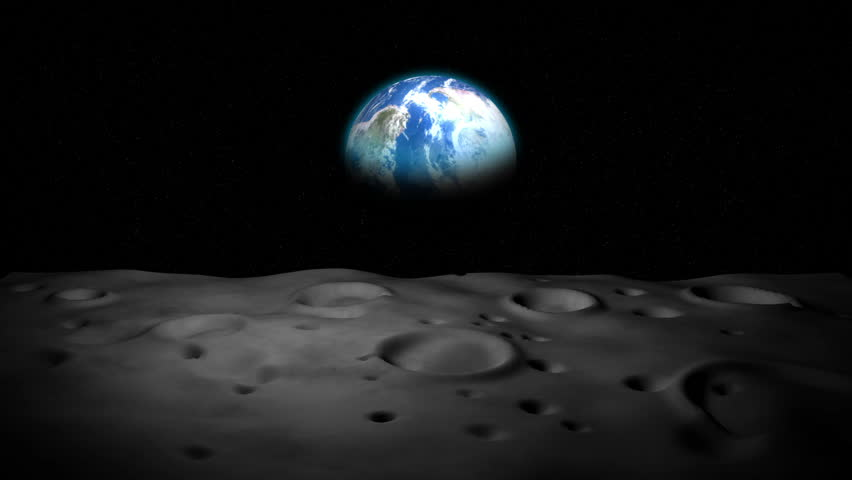 surface of moon as seen from earth - photo #11