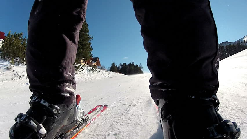 Ski Downhill Panorama 3