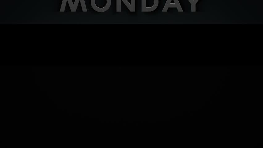 Banner - Monday - 1