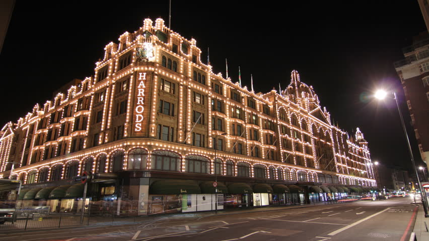 LONDON, UK - APRIL 3: Harrods department store on April 3, 2012 in London, UK.