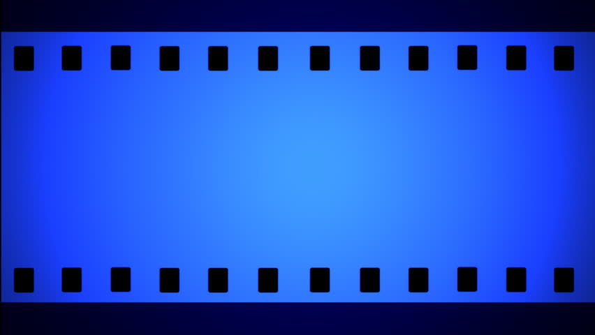 35mm film animation ,3D animation - HD stock footage clip
