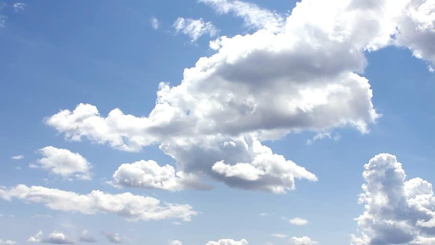 Nature, Nice Cloud & Sky - HD stock footage clip