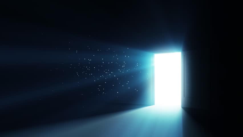 Opening the Door   - HD stock video clip