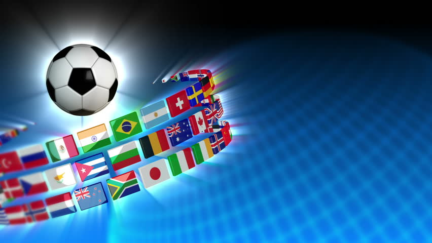 Soccer International Flags Sport Background 53 (HD)