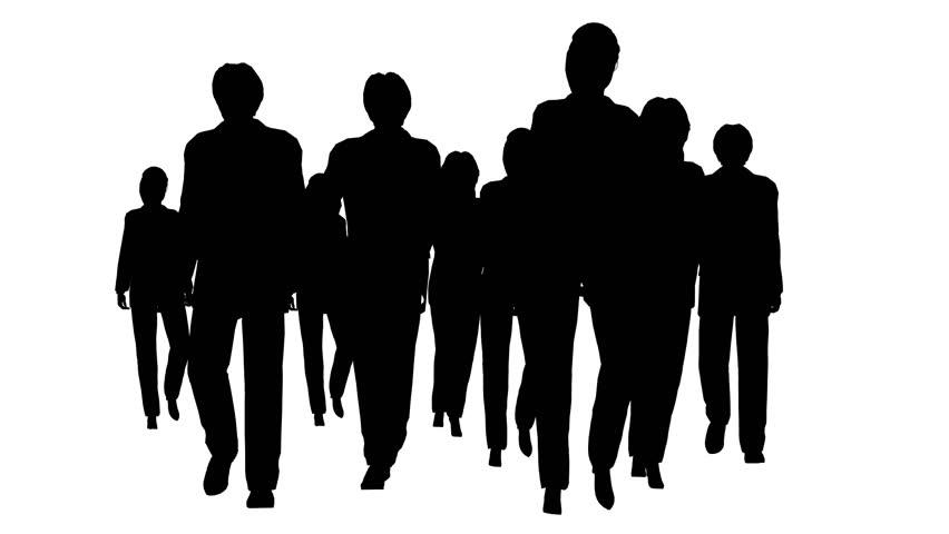 People Silhouette Stock Footage Video - Shutterstock | 852 x 480 jpeg 24kB