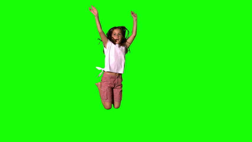 video clip stock fooe smiling woman tossing hair grey background slow motion