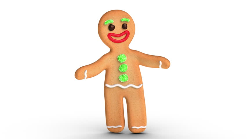 Gingerbread Man is Dancing