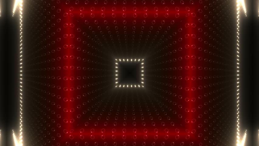 Kaleidoscope Light Background.