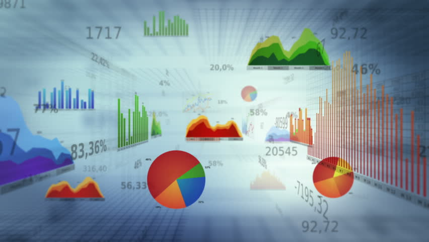 Financial diagrams. Dolly in. Loop-able. White. Financial figures and diagrams showing increasing profits. Loop-able. SEE MORE COLOR OPTIONS IN MY PORTFOLIO. - HD stock footage clip