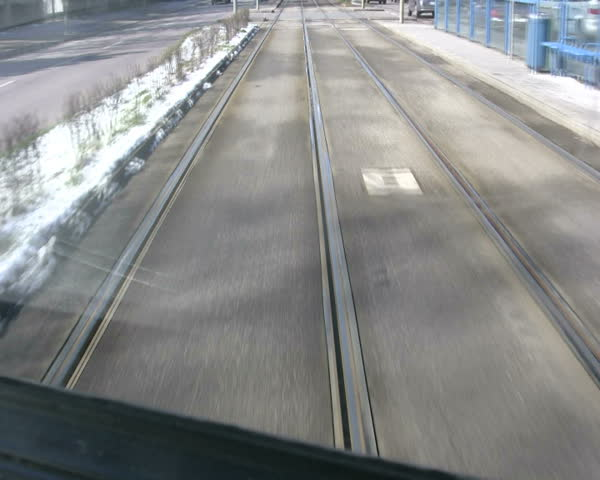 View from the streetcar (tram).