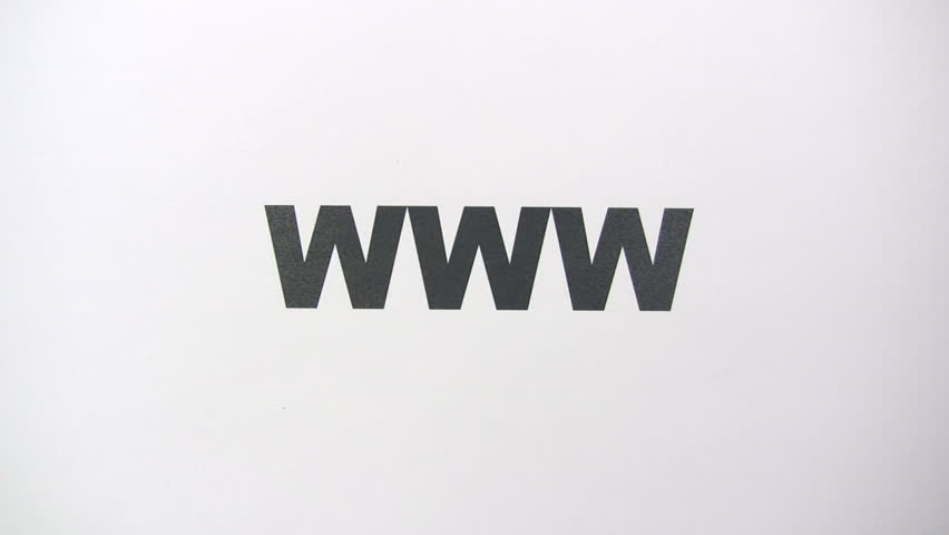 Searching the Web - HD stock video clip