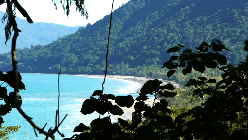 cow bay at cape tribulaion in the daintree national park