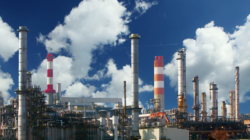 Oil refinery - Industry plant