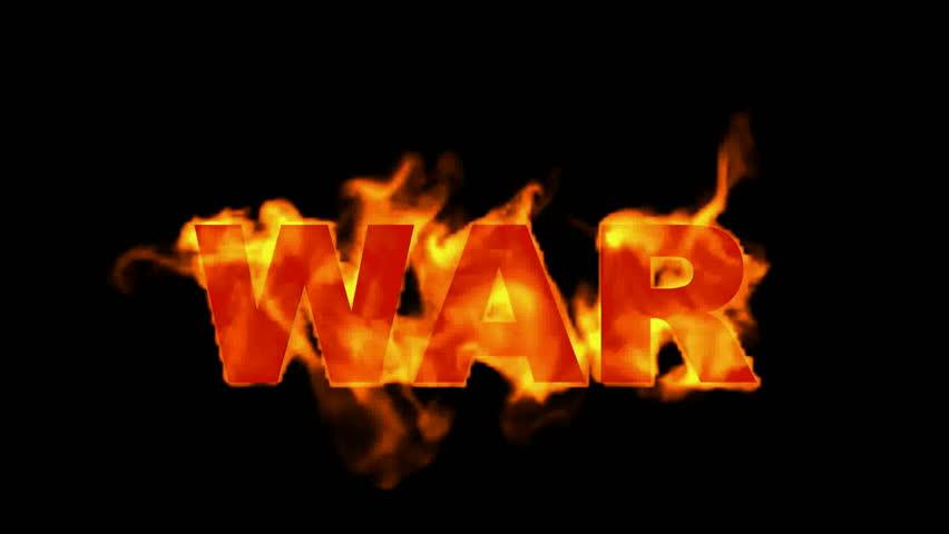 fire war text,fire word.