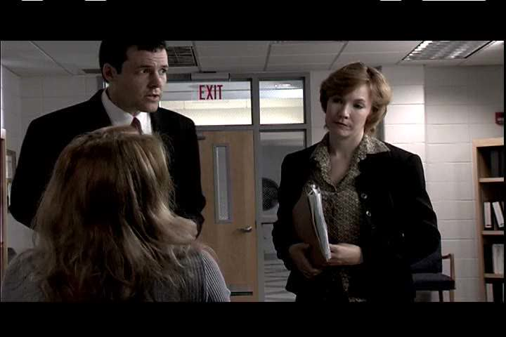 2000s - Two postal inspectors interrogate a secretary about her boyfriends mailing scam during the 2000s
