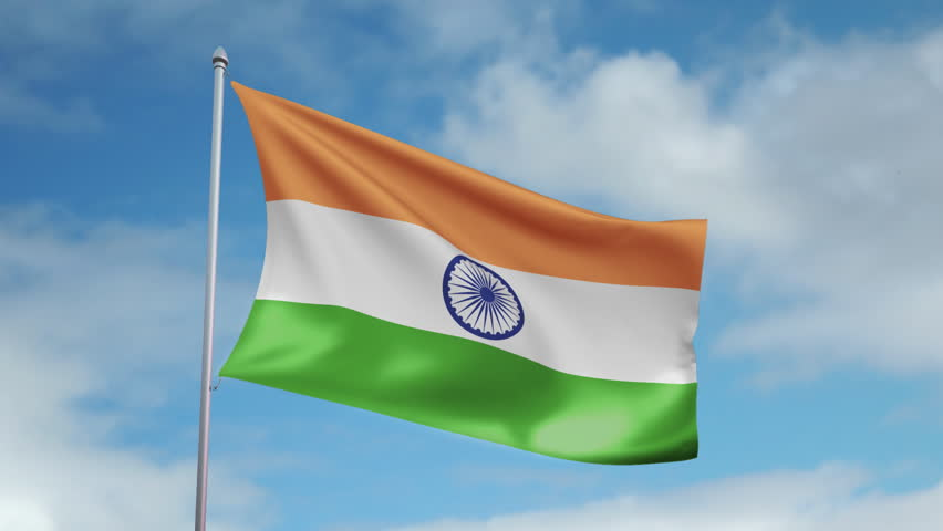 Indian Animated Flag Waving: Indian Flag Moving Motion Gallery