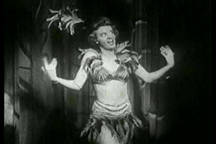 1930s - Alyce Bryce in Jungle Dreams features a burlesque striptease act in the 1930s, a stag film.
