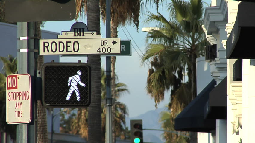 Rodeo Drive, Beverly Hills, California