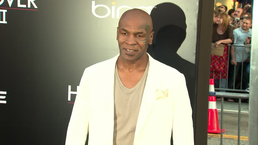 HOLLYWOOD - May 19, 2011: Mike Tyson at the Hangover Part II Premiere in the Grauman's Chinese Theatre in Hollywood May 19, 2011