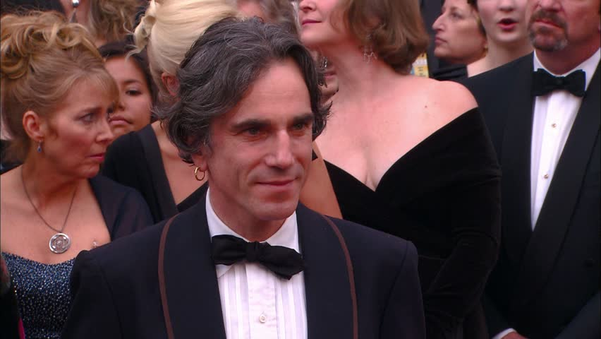 HOLLYWOOD - February 24, 2008: Daniel Day Lewis at the Academy Awards 2008 in the Kodak Theatre in Hollywood February 24, 2008