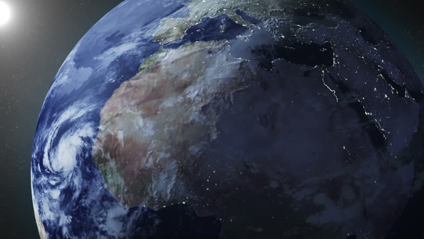 asteroid hitting earth dust - photo #26