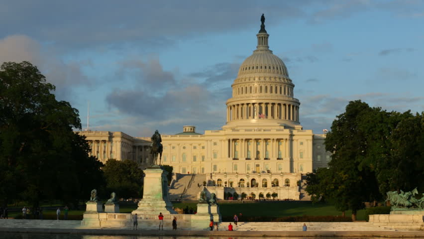 US Capitol Building, Washington DC - HD stock video clip