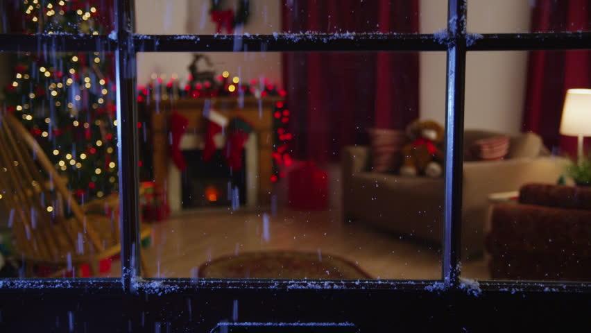 Christmas themed room