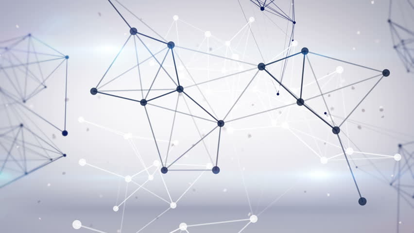 technology network loop background - HD stock footage clip