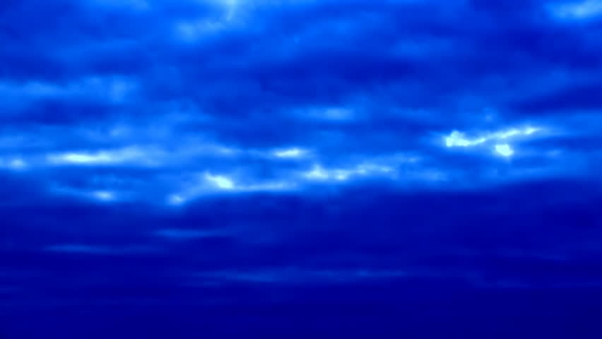 This is natural slow video of Flying Flock Of Birds (Doves) In Magical Dark Blue Sunset Sky. Natural video with bright colors! You can use it in your original projects, as websites background - HD stock video clip