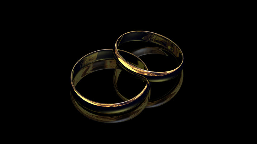 golden rings stock footage 122440