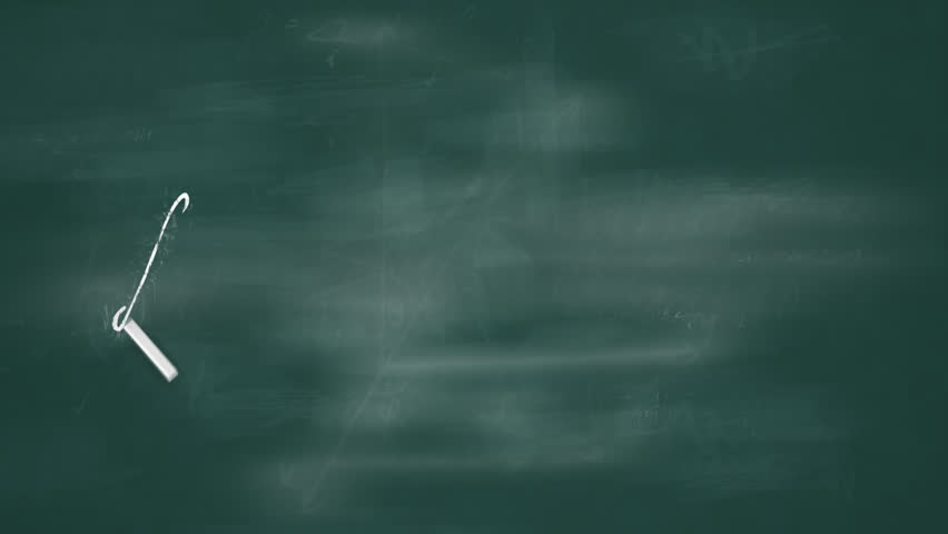 Blackboard writing animation generator