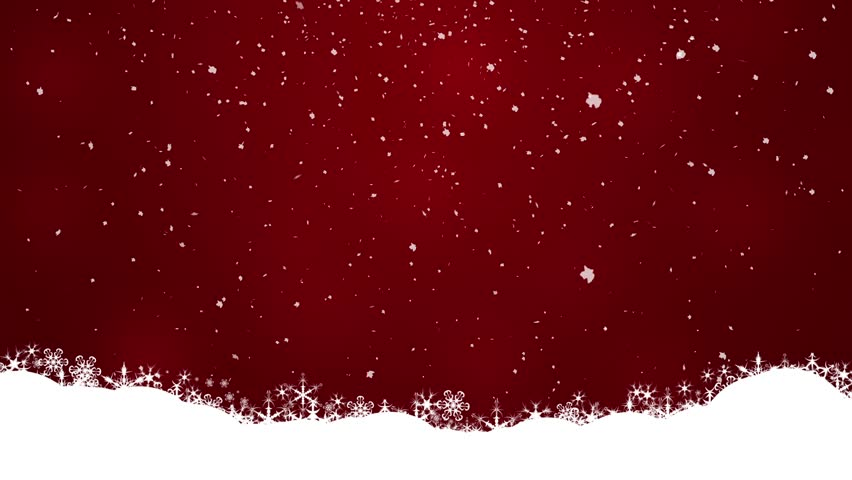 red snow christmas background - photo #1