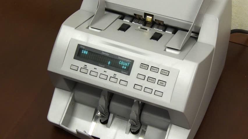 money count machine